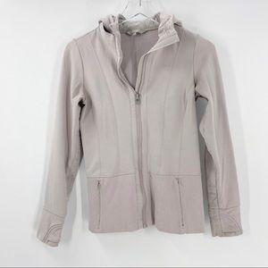 ATHLETA Warm Up Jacket. Full Zip XS